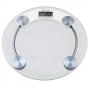 Balan�a Eletr�nica Digital 180 kgs 2003-A Vidro Temperado - BLBQ-153 Redonda
