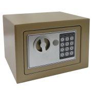Cofre Eletr�nico Digital A�o c/ 2 Chaves Bege CBR1061