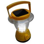Lanterna Lampi�o Solar em PVC R�gido Colors Mod:1399 6 Leds