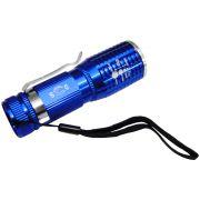 Lanterna T�tica Policial Led Cree Pilhas 10cm DS-1716 Azul