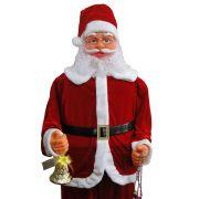 Papai Noel Dan�a e Canta 1,80m Bivolt 1499 - Vermelho