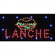 Placa Led Quadro Letreiro Luminoso Decorativo Lanche 1611