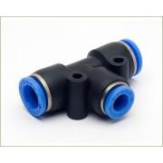 Conex�o em T Push-In Mang. 6mm - Pneum�tica - TPE6