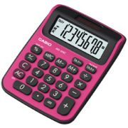 Calculadora de mesa Casio Colorful MS-6NC-BRD-S-DH 8 d�gitos, Big Display, Preta e Vermelha
