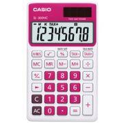 Calculadora de bolso Casio Corlorful SL-300NC-RD-S-DP 8 d�gitos, C�lculo de hora, C�lculo de bolso, Vermelha