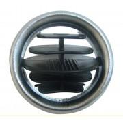 Saida Difusor de Ar Painel Gm Celta Modelo 01/06 Cromado