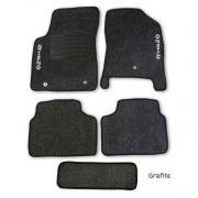 Tapete Carpete Hyundai Hb20 Personalizado 5 Pe�as - Grafite