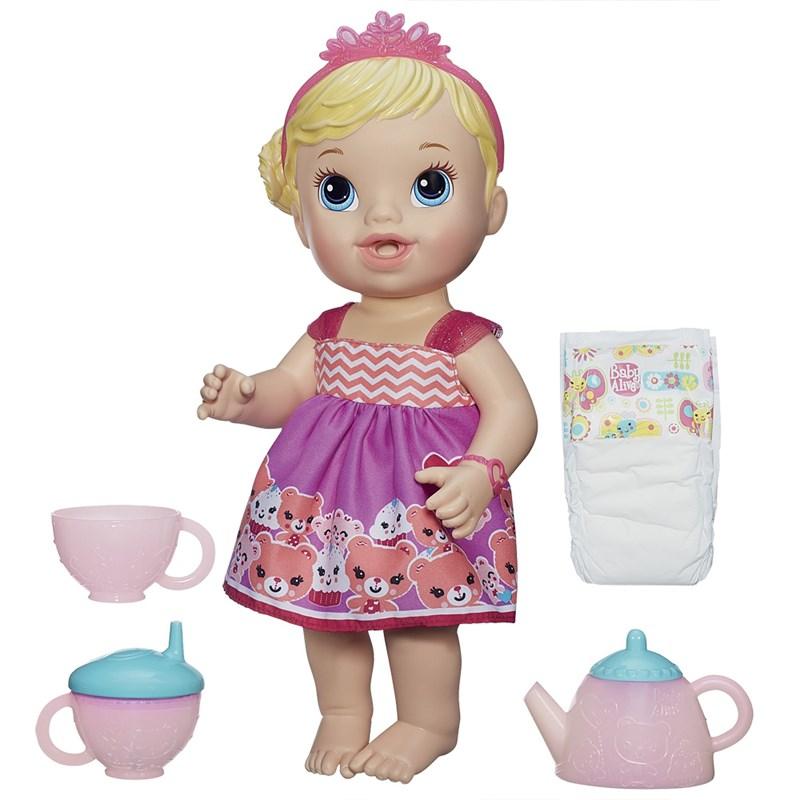 Boneca Baby Alive Loira Hora do Ch� - Hasbro