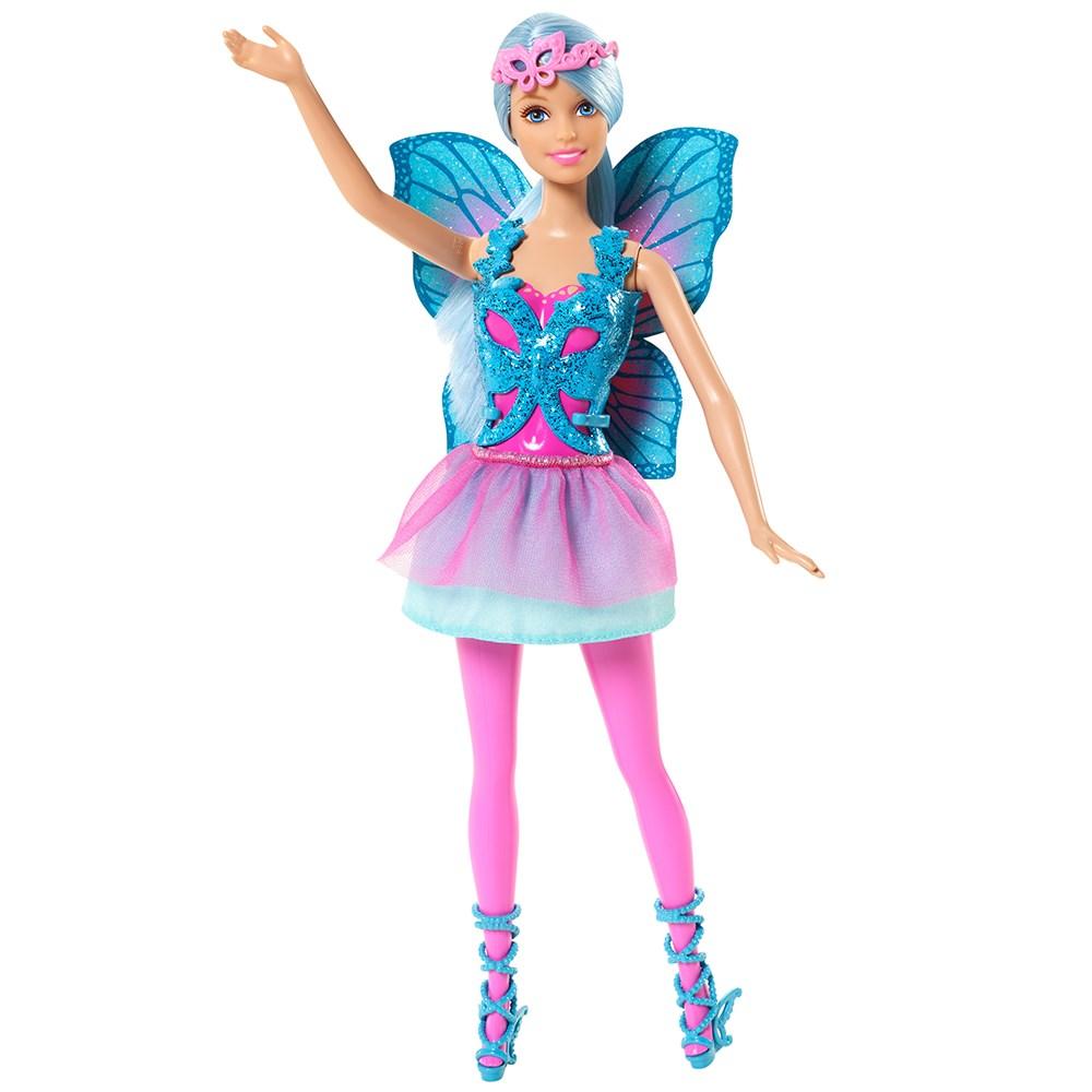 Boneca Barbie Mix & Match Fada Azul - Mattel