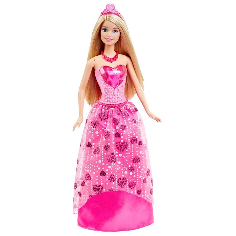 Boneca Barbie Princesa Rosa Reinos M�gicos Reino dos Diamantes - Mattel