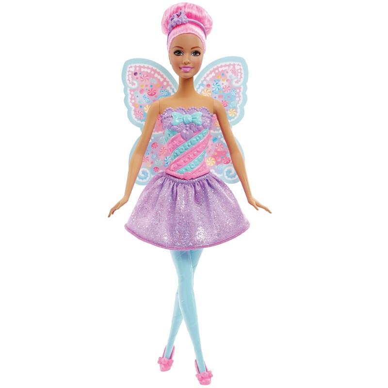 Boneca Barbie Reinos M�gicos Fada do Reino dos Doces - Mattel