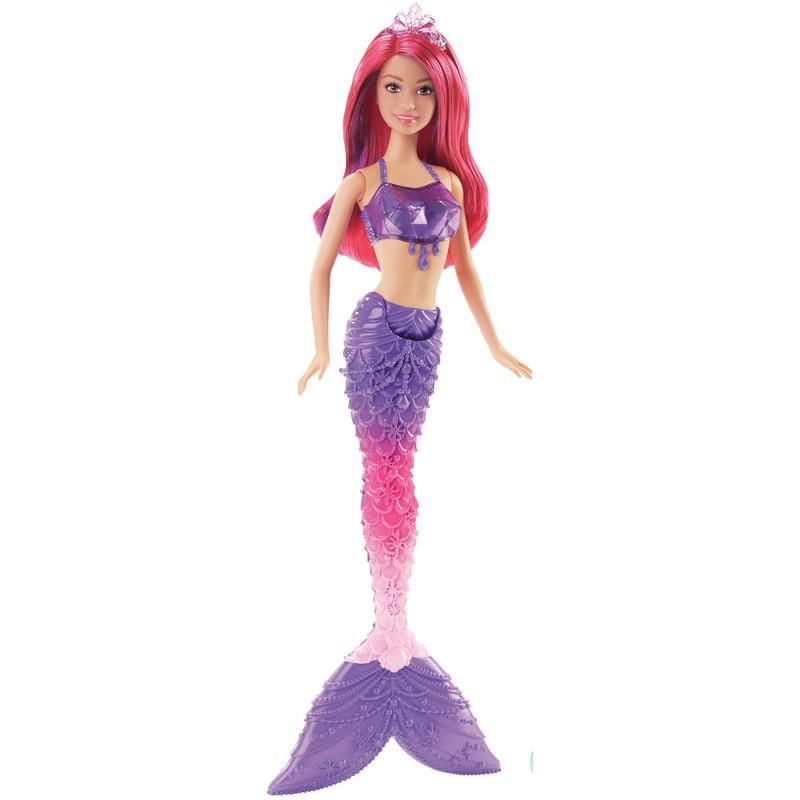 Boneca Barbie Reinos M�gicos Sereia do Reino dos Diamantes - Mattel
