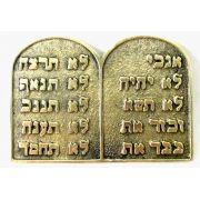 T�bua 10 Mandamentos Em Hebraico