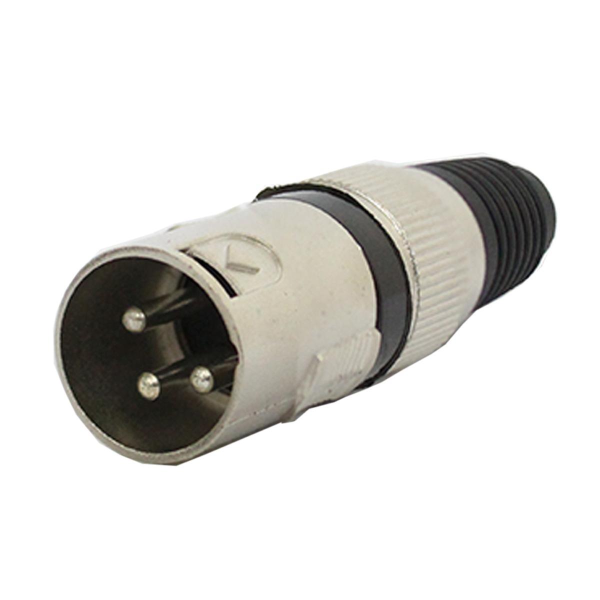Q34BK - Conector Cannon XLR Macho Linha Q34 BK - CSR