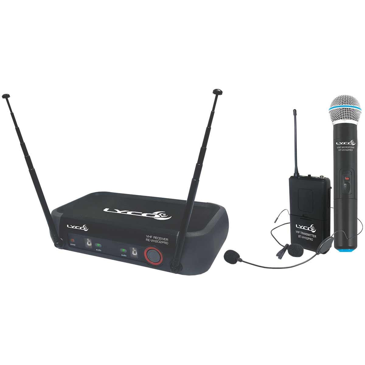 VH202PROMHL - Microfone s/ Fio M�o, Headset e Lapela VH 202 PRO MHL - Lyco