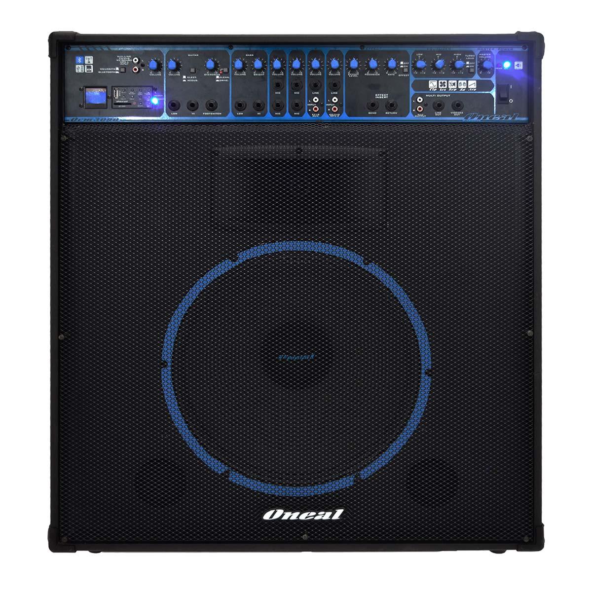 OCM3090 - Cubo Multiuso Ativo 300W c/ Bluetooth e USB OCM 3090 - Oneal