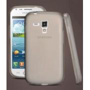 Capa de TPU Premium + Pel�cula protetora Pro fosca anti-reflexo para Samsung Galaxy S Duos S7562