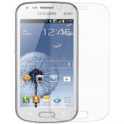 Kit com 2 Pel�culas transparente lisa protetor de tela para Samsung Galaxy S Duos S7562