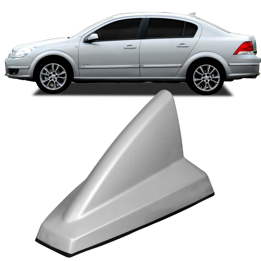 Antena Automotiva de Teto Eletr�nica Modelo Tubar�o Shark Prata - AutoParts Online