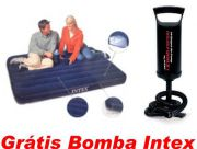 Colch�o Infl�vel CASAL + Bomba Double QUICK 1 Intex Gr�tis - GIFTCENTER