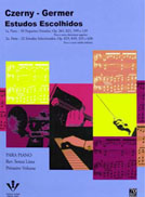 M�todo Czerny Germer Estudos Escolhidos 1� e 2� Parte para Piano - Revis�o Souza Lima