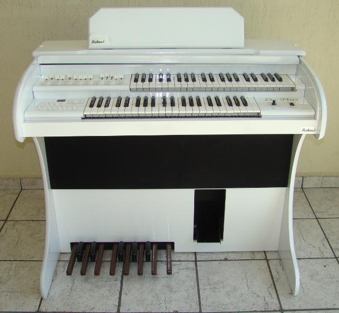 �rg�o Eletr�nico Rohnes Liz Plus Branco PVC.