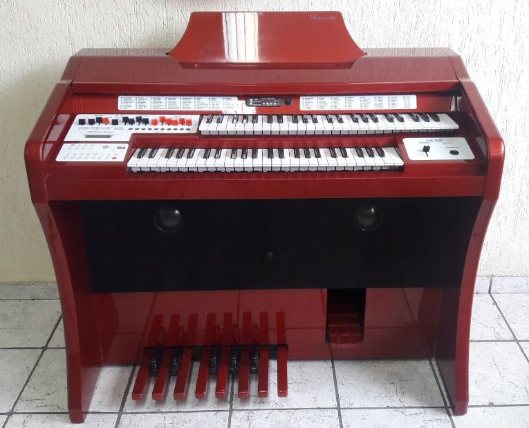 �rg�o Eletr�nico Harmonia HS-200 Super Vermelho Ferrari