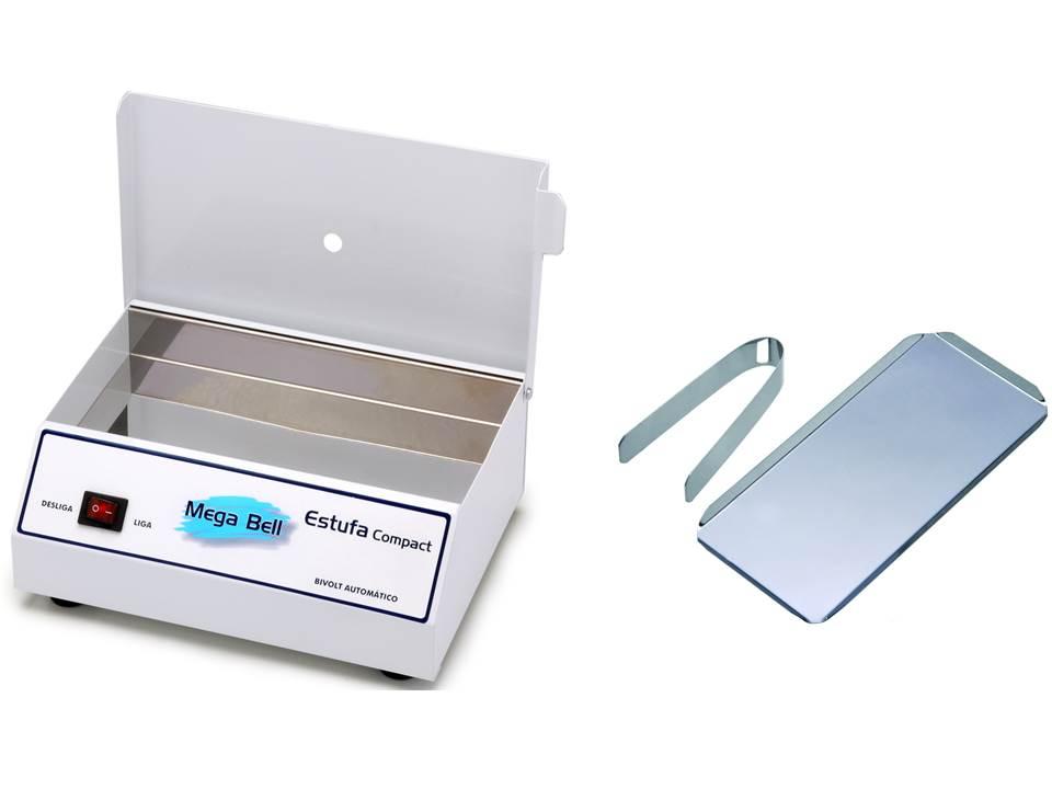 Esterilizador para Manicure Esterilizador de Alicates Bandeja e Pin�a