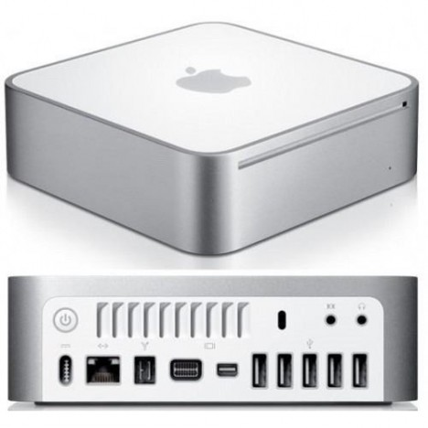 Mac Mini Usado, Revisado, Perfeito. Apple A1176 Intel Core 2 Duo 1.83, 160.0 GB, 4 gigas, CD, Wifi, Bluetooth, 4 USBs.