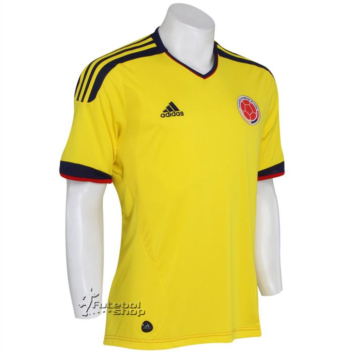 Camisa Adidas Sele��o Colombiana
