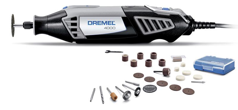 Micro Ret�fica El�trica 4000 c/ 26 Acess�rios 220V - DREMEL