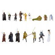 Kit C/ 5 Bonecos Colecion�veis Chaveiros 4 � 11cm Star Wars