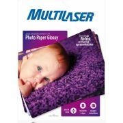 Papel Fotogr�fico Premium 200 G/m� A4 Multilaser C/ 50 Folhas - PE012