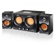 Caixa de Som 2.2 30W RMS Double BASS USB / SD / FM Bivolt Multilaser - SP118