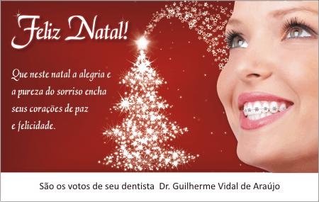 Cart�o de Natal - Ref. 1706 <br><font color=�#008000�>ORTODONTIA </font>