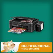 Multifuncional Epson L220 c/ Bulk + 400ml Tinta Corante