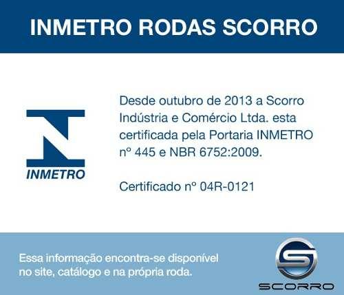 Jogo de 4 Rodas de Liga-Leve Aro 14 Scorro S-195 4x98 4x100 4x108
