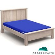 Capa Colch�o Hospitalar Casal Azul 1,38 x 1,88 x 0,25 cm
