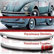 Kit Parachoque Dianteiro e Traseiro Fusca Mexicano 71 a 96