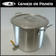Caldeir�o 27 litros com V�lvula