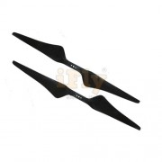 H�lice EMAX 15x5.5 em Fibra de Carbono / Multi-rotores. Par