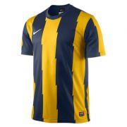 Jogo de Camisas Nike Energy Amarelo/Marinho com 10 Unidades + 1 goleiro Tamanho G Adulto Sem Numera��o