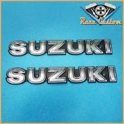 Emblema de Tanque Suzuki  Alum�nio - PAR
