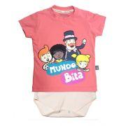 Camiseta-body Mundo Bita