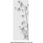 007 - Adesivo Jateado para vidro Bamboo 220x90cm