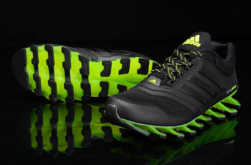 adidas springblade 1 preto e verde