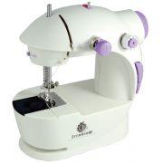 Mini M�quina De Costura Port�til C/ Luz Pedal Bobinas e Brinde