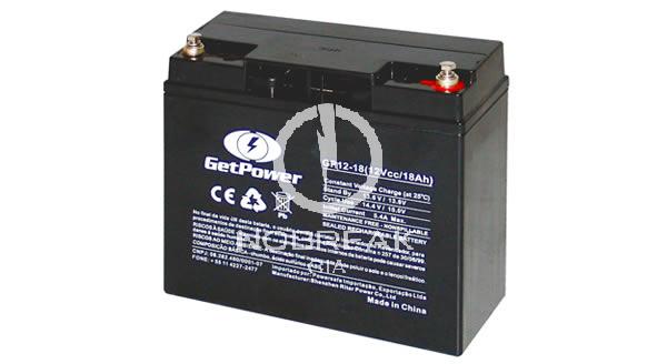 Bateria Selada VRLA 18 Ah Get Power GP12-18