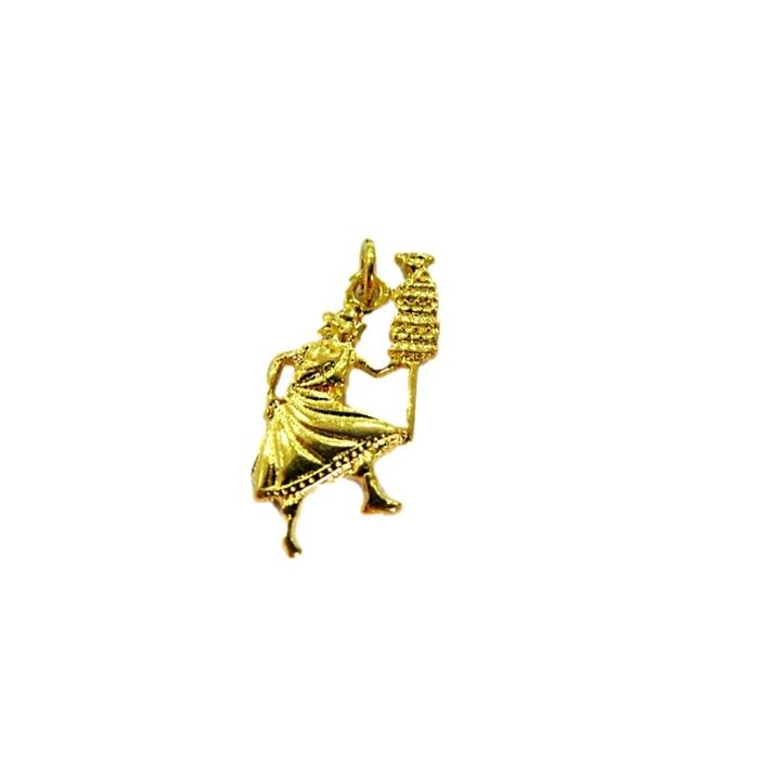 Pingente Oxala dourado (orix�)- POD003