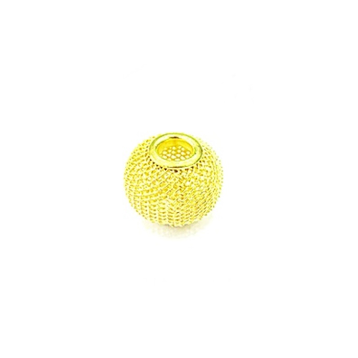 Berloque Dourado Bola Renda P BED011
